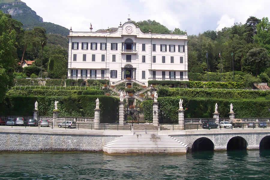 Вилла «Олеандра» Джорджа Клуни в Италии на озере Комо