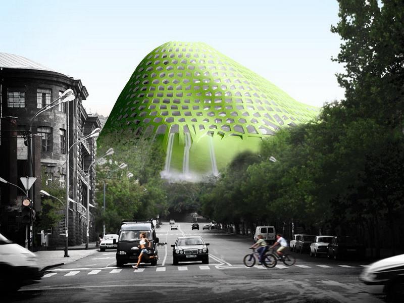 Проект жилого холма в Ереване от Forrest Fulton Architects