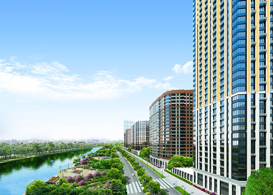 Начали продавать квартиры в ЖК «Сердце Столицы» в Москве