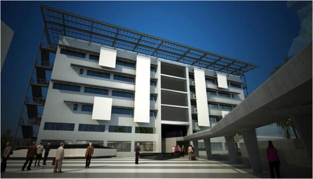 Подходит к завершению строительство нового здания ООН в Ханое