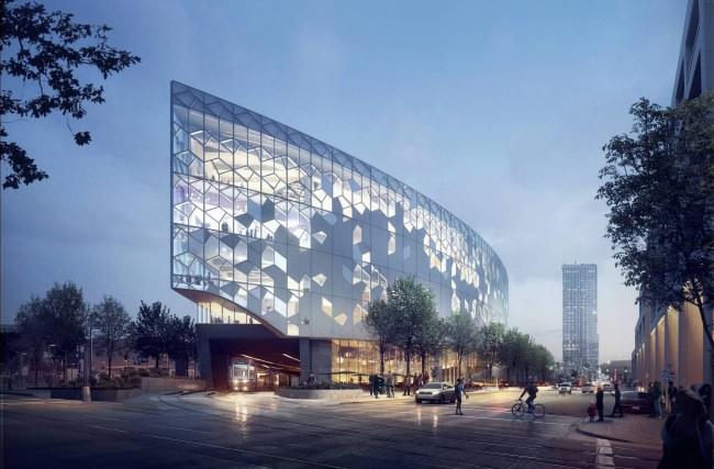 Центральная библиотека города Калгари по проекту бюро Snøhetta