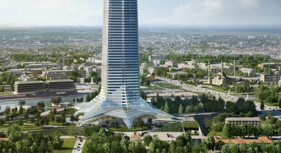 Башня «Ахмат-Тауэр» в Грозном | новые фото, высота, проект