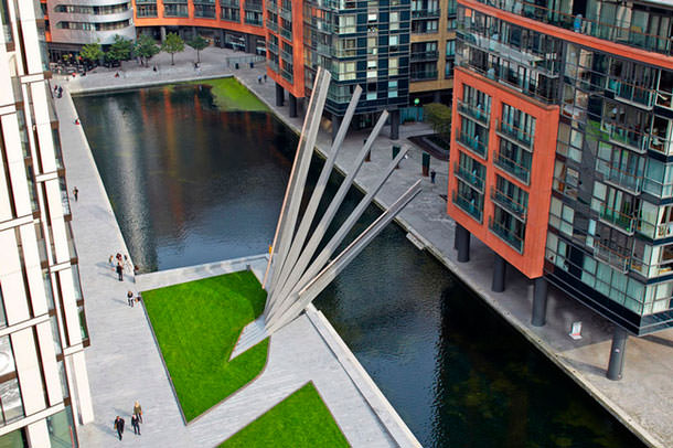 Мост в Лондоне по проекту бюро Knight Architects