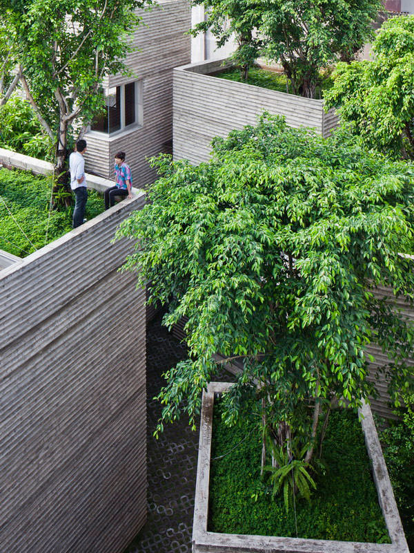 Жилой комплекс House for Trees во Вьетнаме | Фото, проект
