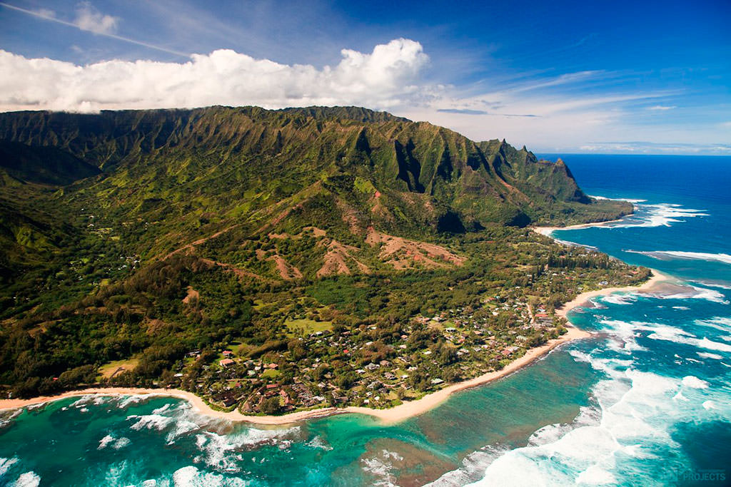 Остров Кауаи Гавайского архипелага