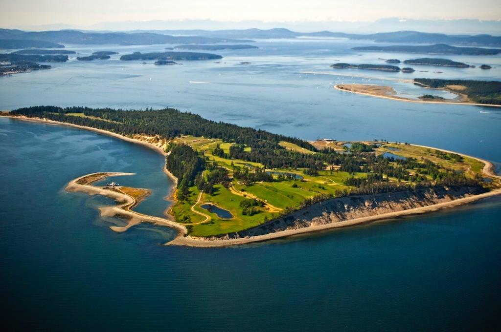Остров Джеймс в Канаде
