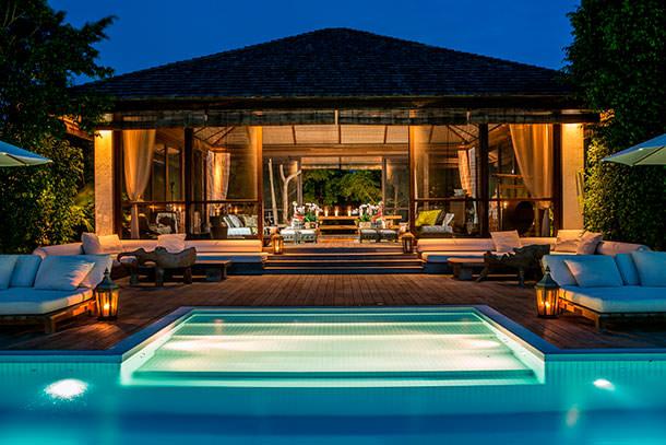 Дом на частном острове Донны Каран | фото, цена, площадь