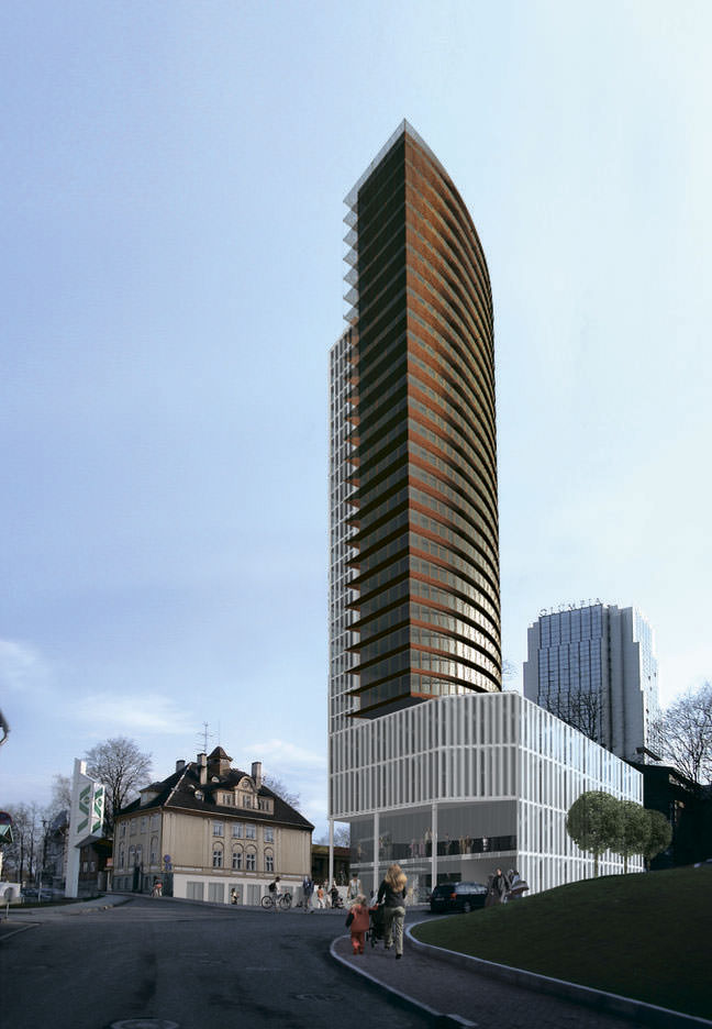 Эстонская лютеранская церковь построит небоскреб в Таллине