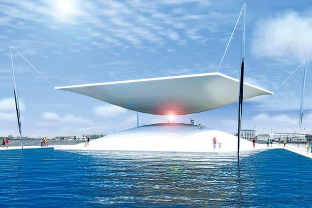 В Дании построят гигантские солнечные «песочные часы»