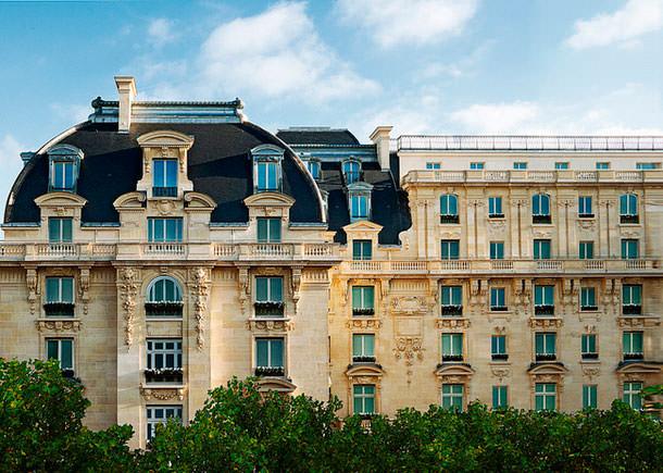 Гостиница The Peninsula в Париже