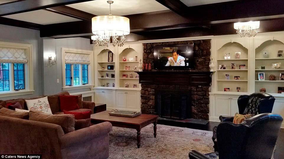 Кабинет дона Корлеоне в нью-йоркском доме