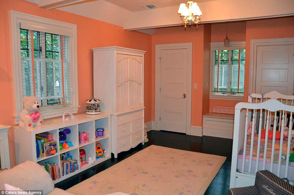 Дизайн детской комнаты в старом доме