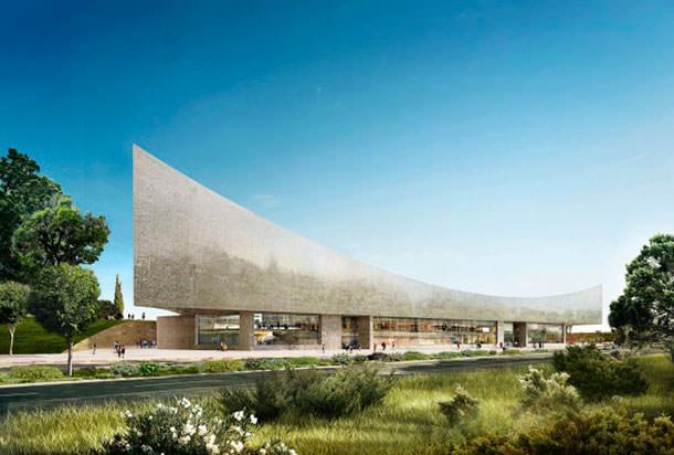 Национальная библиотека Изралия от бюро Herzog & de Meuron