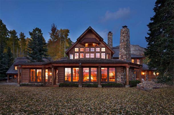 Дом Тома Круза в горах продается | фото, цена, информация