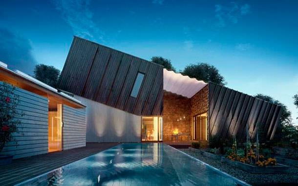 Студия ZEB построила дом с отрицательным потреблением энергии