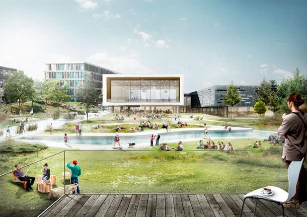 Обновленный кампус CBS от C.F. Møller и Transform