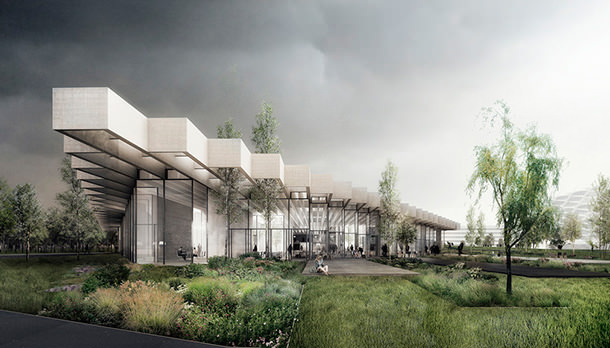 Новая штаб-квартира Adidas в Германии. Проект бюро COBE