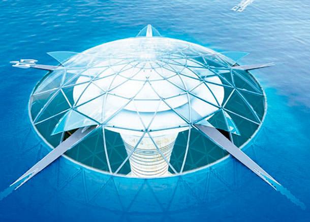 Город под водой Ocean Spiral от Shimizu Corporation