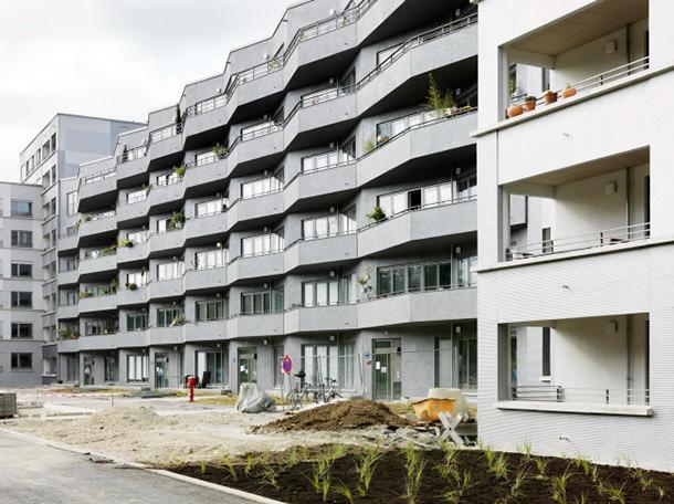Социальный комплекс в Мюнхене от Петера Эбнера