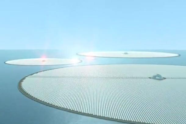 Солнечная электростанция на воде тестируется на Мальте