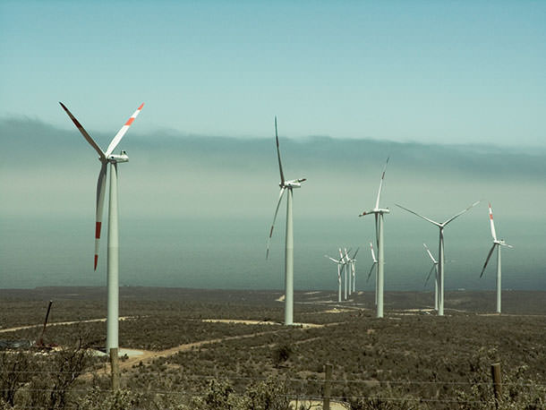 Новая ветровая электростанция на 99 МВт запущена в Чили