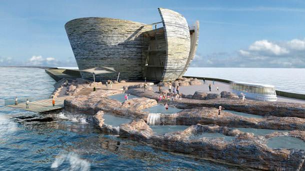 Приливная электростанция для залива Суонси от LDA Design