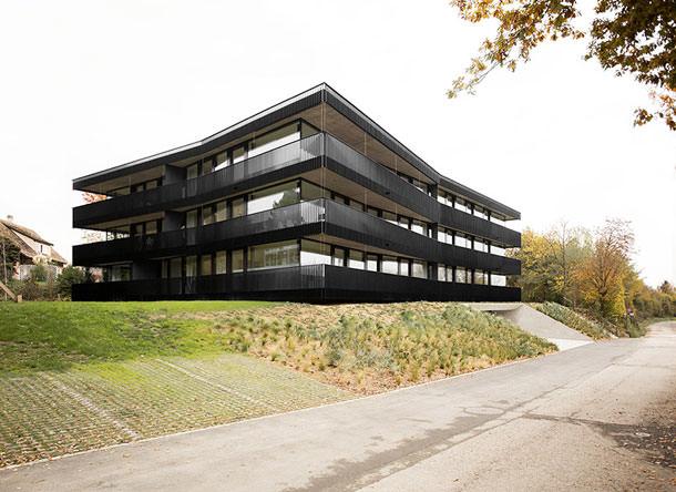 Многоквартирный дом в Швейцарии от Fruehauf Henry & Viladoms