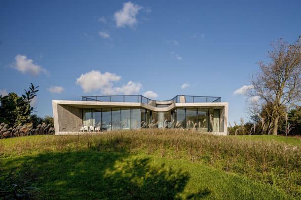 Загородный дом W.I.N.D в Северной Голландии от UNStudio