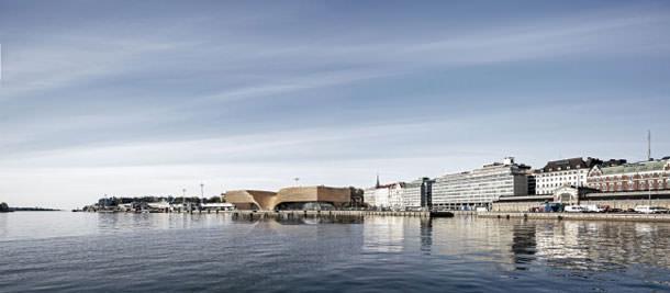 Проект музея Гуггенхайма в Хельсинки от Архитектурной группы ДНК