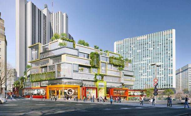 Проект обновления квартала в Париже от MVRDV
