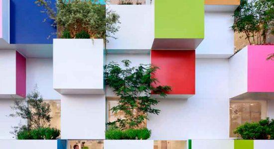 Sugamo Shinkin Bank в Кавагути от Emmanuelle moureaux architecture + design