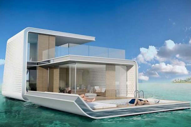В Дубае начнут строить виллы с подводными этажами