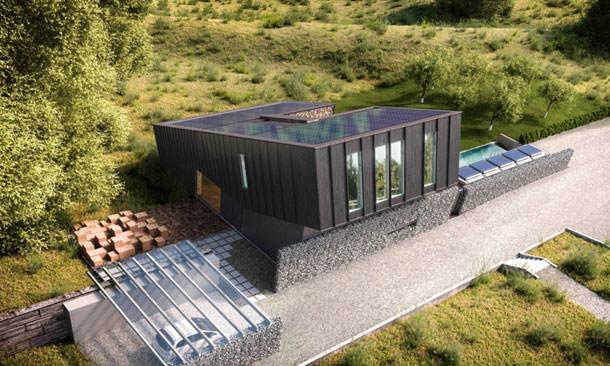 Экодом по проекту архитектурного бюро Snøhetta