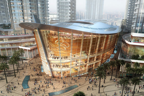 Проект оперного театра в Дубае от Atkins