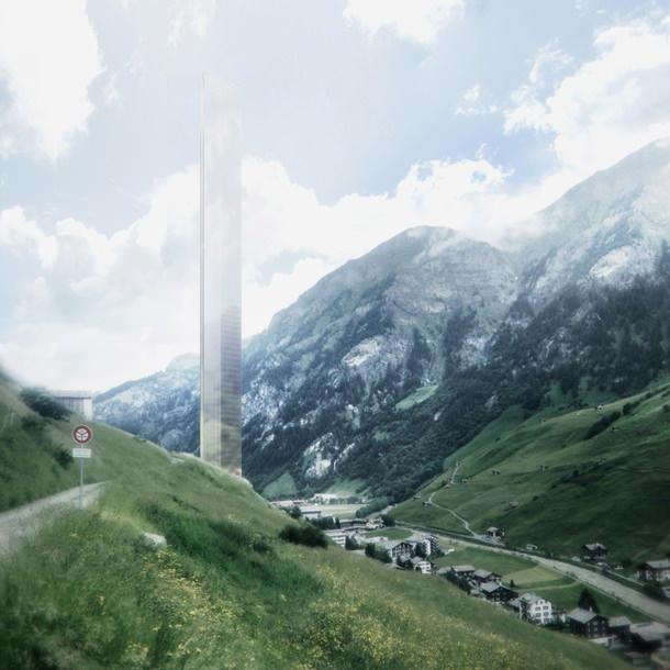 Отель в Швейцарии по проекту Morphosis Architects