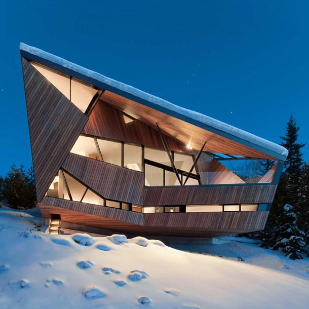 Деревянный дом пришельцев: проект Patkau Architects | фото