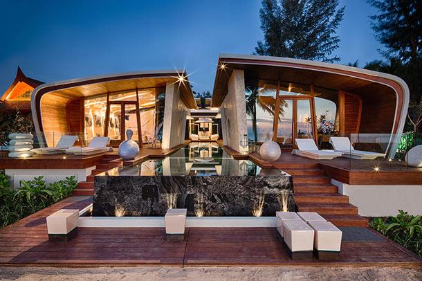 Дом на побережье Бирмы от A-cero Architects | фото
