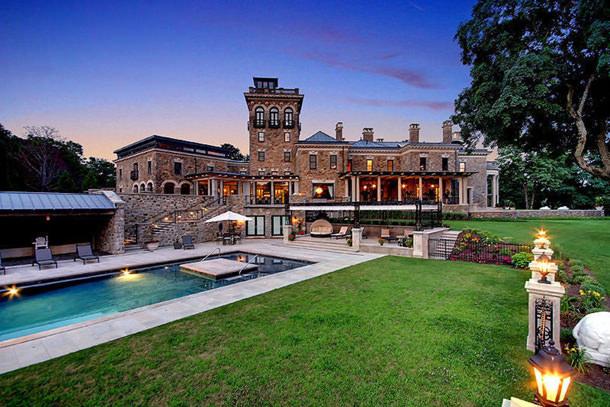 Замок Stronghold в Бернардсвилле, штат Нью-Джерси, США