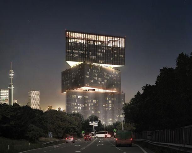 Проект отеля RAI в Амстердаме от OMA