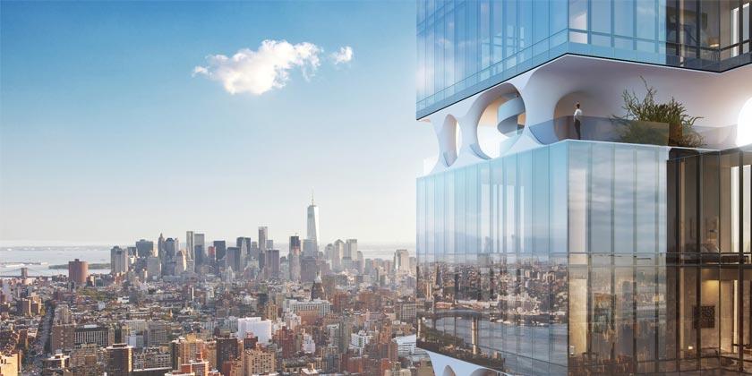 Проект небоскреба на Манхэттене от Triangle Assets