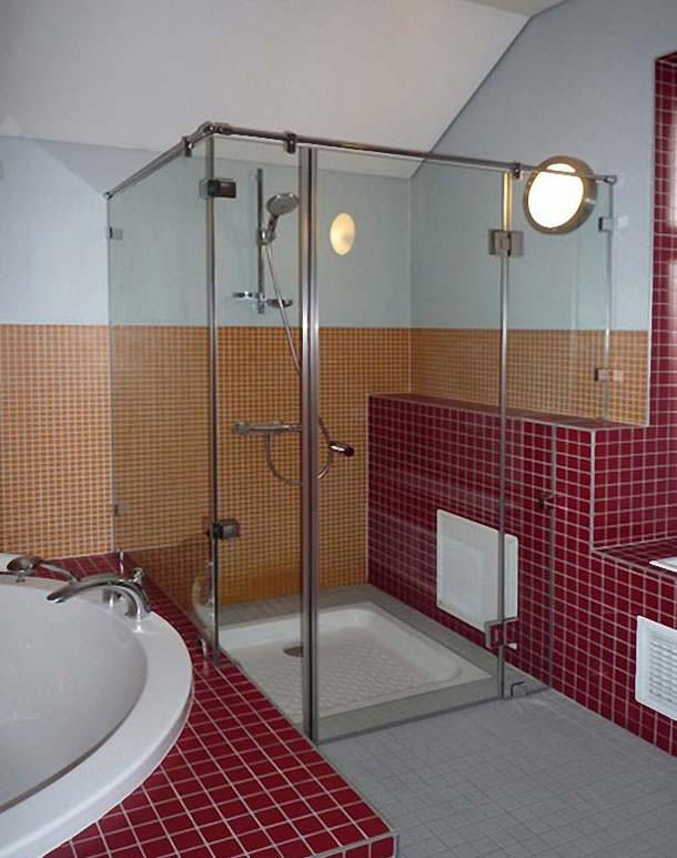 Уход за стеклянной душевой кабиной | правила и профилактика