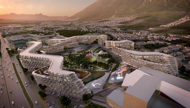 Жилой комплекс Esfera City в Монтеррее по проекту Zaha Hadid Architects