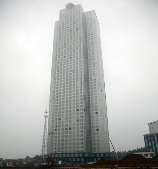 Небоскреб по-китайски: 57 этажей за 19 дней