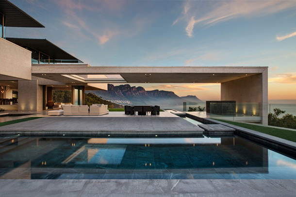 Вилла на берегу окена в Южной Африке от SAOTA   фото, проект
