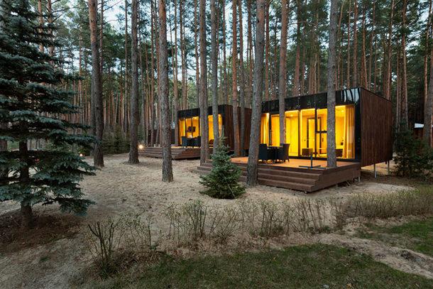 Деревянный коттедж в Украине. Проект YOD Design Lab
