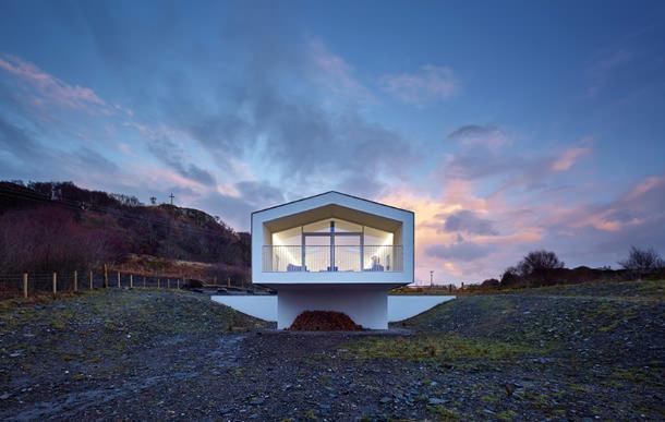Прибрежный дом в Шотландии. Проект Dualchas Architects | инфо