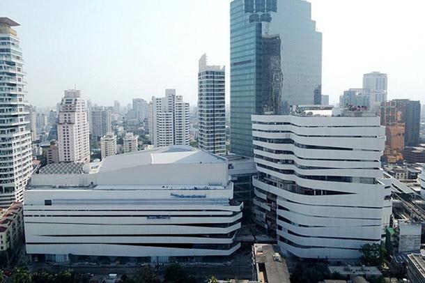 Торговый центр в Бангкоке. Проект Leeser Architecture