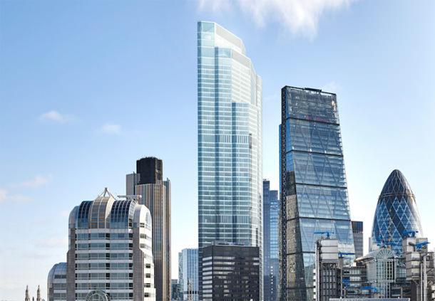 В Лондоне построят 62-этажный небоскреб в деловом Сити