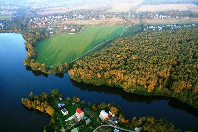 Бюджетные участки с подрядом у реки в Дмитровском районе Подмосковья