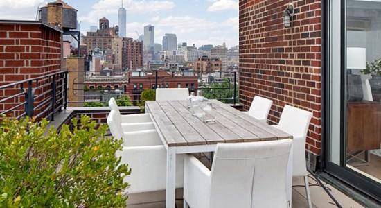 Квартира Джулии Робертс на Манхэттене